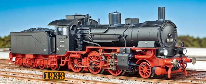 Fleischmann: BR 37.0 der DRG (1933)