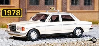 Busch-46862-MercedesW123-Taxi