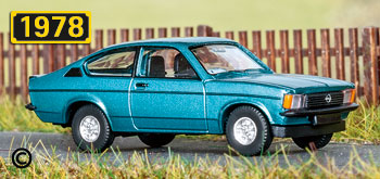 Wiking 022902 Opel Kadett C coupé GT//E 1977-79 h0 m1:87